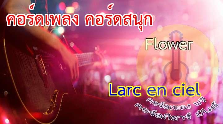 3     0  3     3  2     2  0     0  x     x  x     x  เนื้อร้อง เพลง Flower:  Sou kizuite ita gogo no hikari ni mada  oku wa nemutteru  Omoi doori ni naranai SHINRIO wa  Tomadoi bakari dakedo